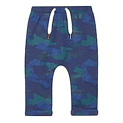 Esprit - Baby boys' navy camouflage jogging bottoms