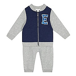 Esprit - Baby boys' light grey sweater and jogger set