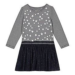 Esprit - Girl's navy star tutu dress