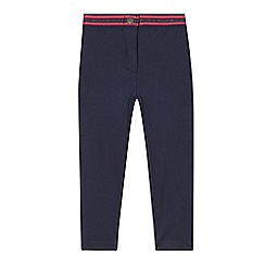 Esprit - Girl's navy stretch leggings