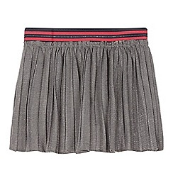 Esprit - Girl's grey net skirt