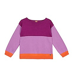 Esprit - Girls' lilac striped jumper