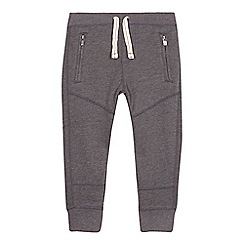 Esprit - Boy's grey cuffed sweat jogging bottoms