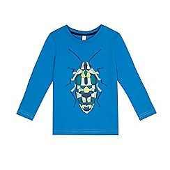 Esprit - Boys' blue insect t-shirt