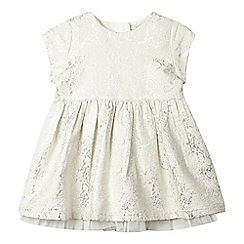 Esprit - Baby girls rose print sparkle dress