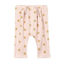 Esprit - Baby girls' pale pink star joggers