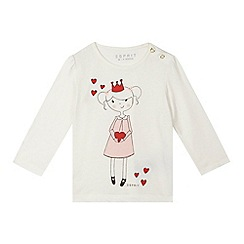 Esprit - Baby girls' off white princess top
