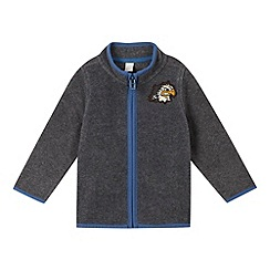 Esprit - Baby boys' grey eagle fleece zipped cardigan