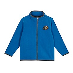 Esprit - Boys' blue eagle fleece zipped cardigan