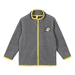 Esprit - Boys' grey fleece cardigan