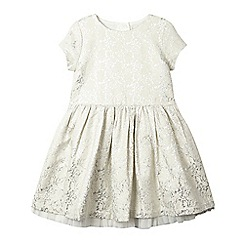 Esprit - Girls rose print sparkle dress