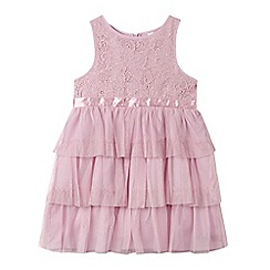Esprit - Girls' lilac lace dress