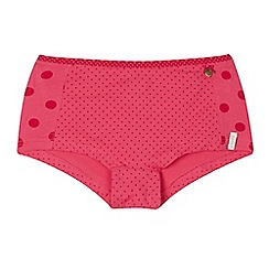 Esprit - Girls' pink polka dot shorts