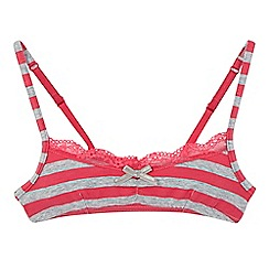 Esprit - Girls' pink striped bra