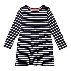 bluezoo - Girls' navy striped dress