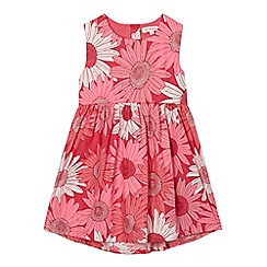bluezoo - Girls' red sunflower dress