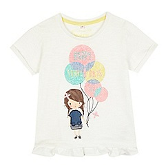 bluezoo - Girls' balloons t-shirt