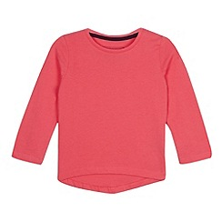 bluezoo - Girls' pink long sleeved t-shirt