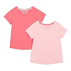 bluezoo - Set of two girls' pink t-shirts