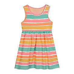 bluezoo - Girls' multi-coloured striped print dress