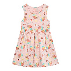 bluezoo - Girls' pink ice cream print dress