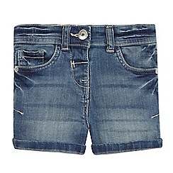 bluezoo - Girls' denim woven shorts