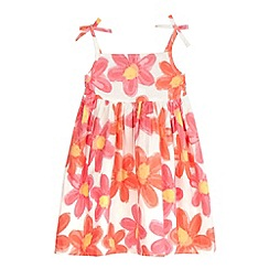 bluezoo - Girls' peach floral dress