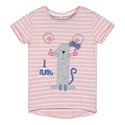 bluezoo - Girls' pink 'I am 1' t-shirt