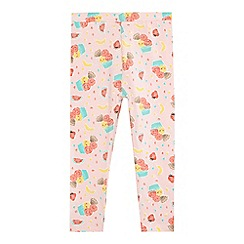 bluezoo - Girls' pink ice cream print leggings