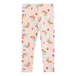 bluezoo - Girls' pink ice cream print leggings