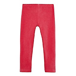 bluezoo - Girls' pink cord leggings