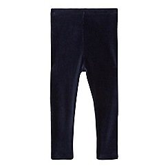 bluezoo - Girls' navy cord leggings