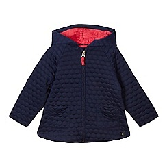 J by Jasper Conran - Girls' navy quilted jacket