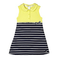 J by Jasper Conran - Girls' yellow striped jersey dress