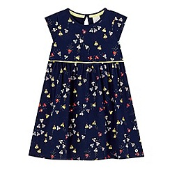J by Jasper Conran - Girls' navy bee print dress