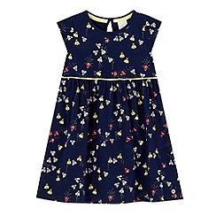 J by Jasper Conran - Girls' navy bee print dress