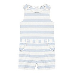 J by Jasper Conran - Girls' light blue nautical striped playsuit