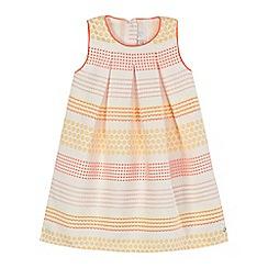 J by Jasper Conran - Girls' white floral sleeveless dress