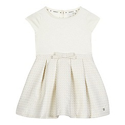 J by Jasper Conran - Girls' cream quilted skirt dress