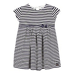 J by Jasper Conran - Girls' navy striped dress