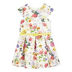 RJR.John Rocha - Girls' yellow botanical meadow dress