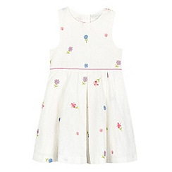 RJR.John Rocha - Girls' white floral embroidered dress