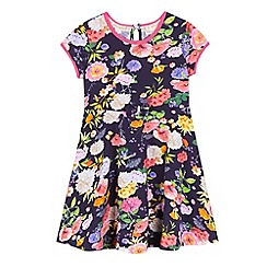 RJR.John Rocha - Girls' multi-coloured floral print dress