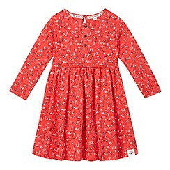 Mantaray - Girls' red ditsy floral dress