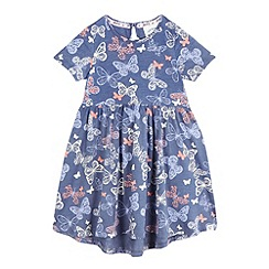 Mantaray - Girls' baby butterfly print dress