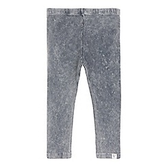 Mantaray - Girls' grey acid wash jeggings