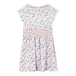 Mantaray - Girls' multi-coloured ditzy dress