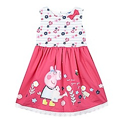 Peppa Pig - Girls' pink 'Peppa Pig' dress