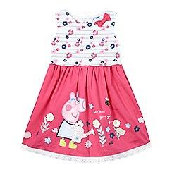 Peppa Pig - Girls' pink 'Peppa Pig' dress