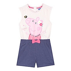 Peppa Pig - Girls' pink 'Peppa Pig' playsuit